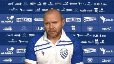 Mozart Santos fala sobre saída de Alan Costa do CSA e detalha como pretende montar a equipe