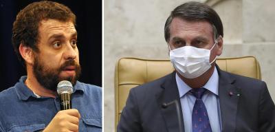 Bolsonaro aciona PF contra Boulos por críticas nas redes sociais