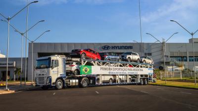 Hyundai inicia exportação do Brasil para Argentina