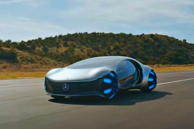 Mercedes lança protótipo de elétrico inspirado no filme 'Avatar'