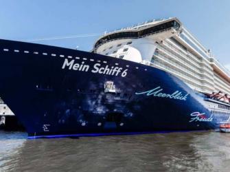 """Possível surto de COVID-19 na tripulação do """"Mein Schiff 6"""" na Grécia"""