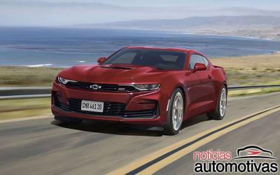 Camaro 2021 ganha visual atualizado e projeção sem fio por R$ 377.900