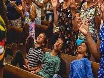 Meus filhos foram criados na igreja
