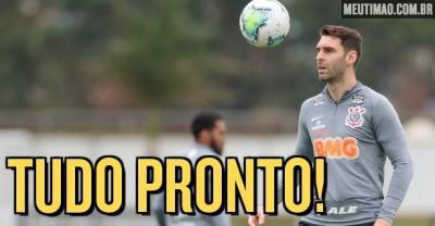 Corinthians faz o último treino antes de encarar o Flamengo pelo Brasileiro; veja provável escalação
