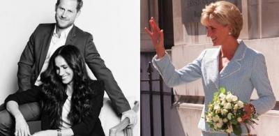Meghan Markle usa relógio de Diana avaliado em R$ 130 mil ao lado de Harry