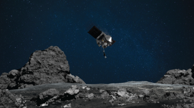 Assista ao vivo ao pouso da Nasa no misterioso asteroide Bennu
