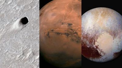 O céu (não) é o limite | Enorme tubo de lava descoberto em Marte, e muito mais!
