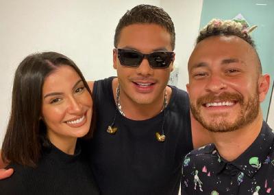Bianca Andrade e seu namorado, Fred, garantem lugar exclusivo da live Garota VIP, de Wesley Safadão