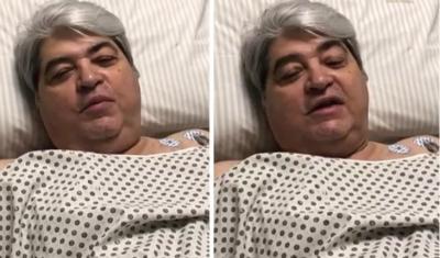 Urgente: Datena é internado às pressas em hospital de São Paulo; atual estado de saúde é divulgado