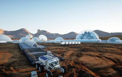 Humanos viverão em redomas de vidro em Marte, diz Elon Musk