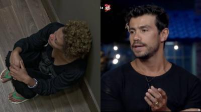 """A Fazenda 12: Lidi Lisboa e Mariano discutem no """"Hora do Faro"""", e atriz tem crise de choro na despensa: """"A casa inteira tá contra mim"""" — assista"""