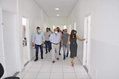 O Liberal Prefeitura entrega posto de saúde da família na Praia Azul