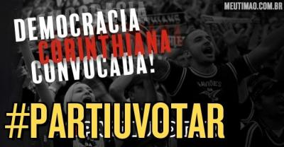 Corinthians incentiva Fiel a participar de eleições municipais no domingo e torcida reage