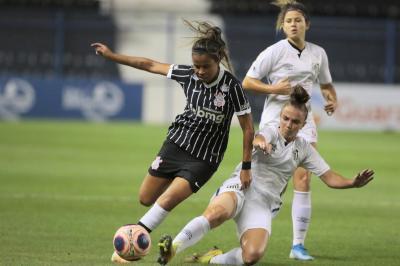 Santos vence Corinthians, mas é eliminado do Paulistão feminino; Timão avança à semifinal