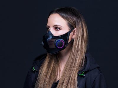 Fabricante de equipamento para gamers cria máscara que ventila e amplifica a voz