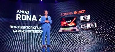 AMD confirma novas GPUs RDNA2 de gama média para notebooks em 2021