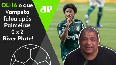 """O que mais me ADMIROU foi..."" OLHA o que Vampeta falou do Palmeiras NA FINAL da Libertadores!"